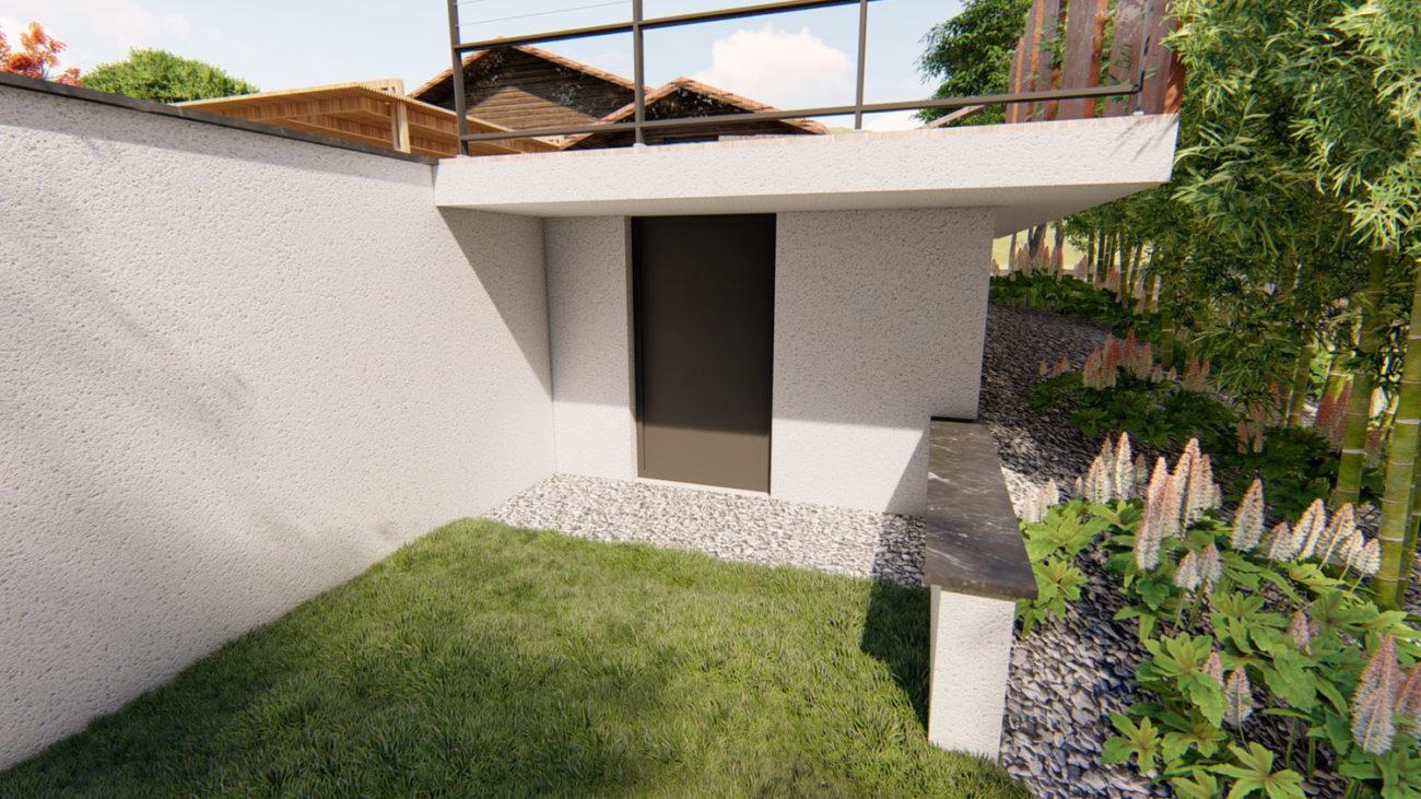 Architecte d'extérieur