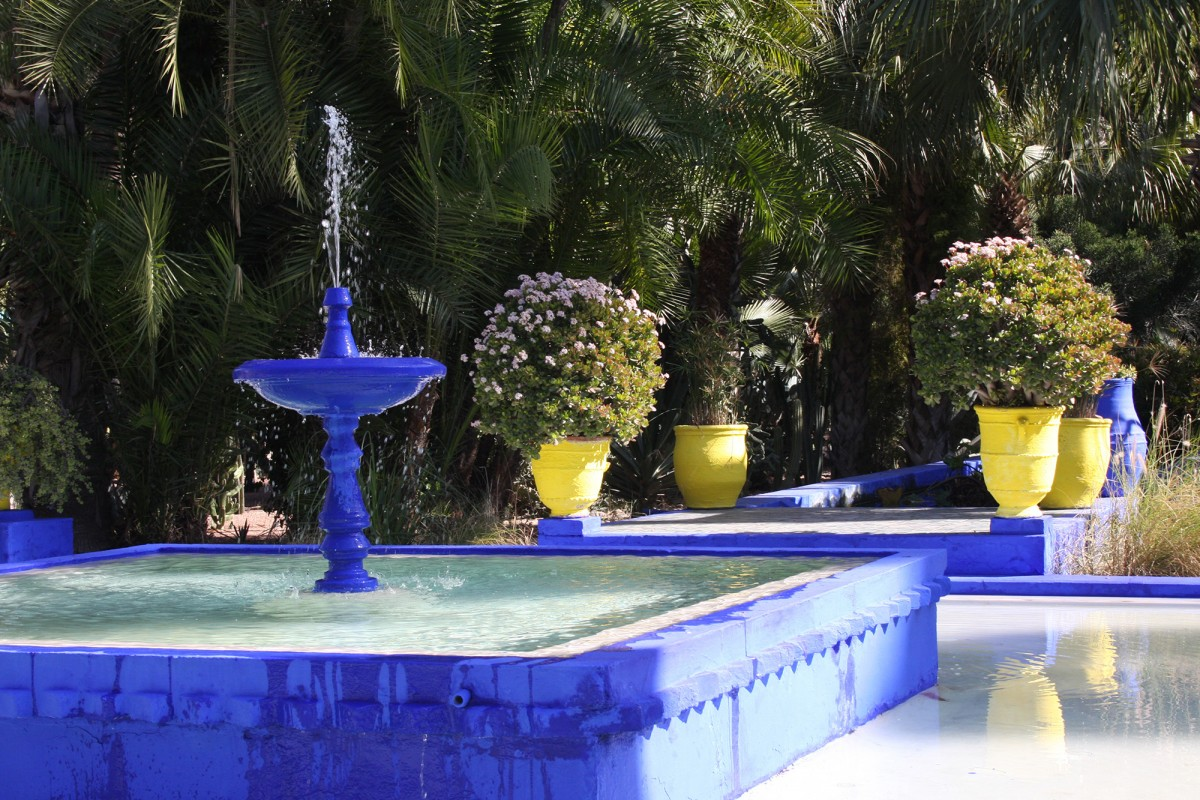 Le Jardin Majorelle – Marrakech, Maroc