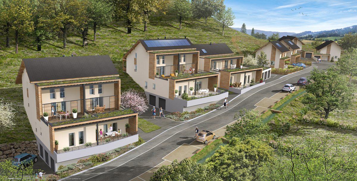 Aménagement d'un habitat collectif à Saint Cassin-