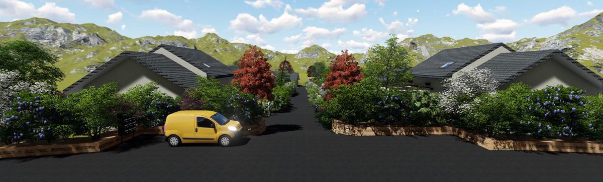 Le hameau des Routens-